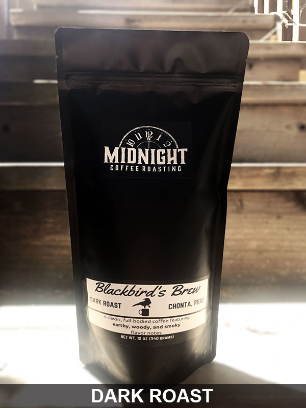 Blackbird Coffee Midnight Coffee Roasting