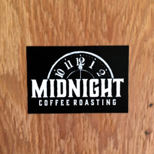 Midnight Coffee Roasting – Logo Sticker