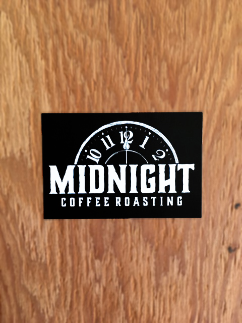 Midnight Logo Sticker