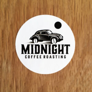 Midnight Coffee Roasting – Sticker