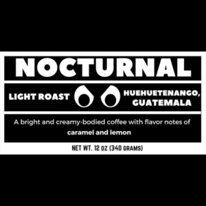 Nocturnal Coffee From MCR